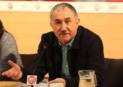 """Pepe Álvarez (UGT) cree que el CETA representa una """"pérdida de soberanía"""" del Estado español"""