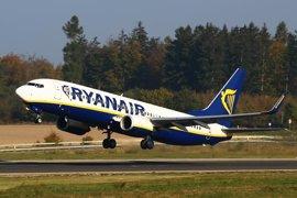 Ryanair mantiene en su calendario de invierno la ruta Santander-Valencia con tres frecuencias semanales