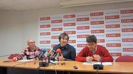 CC.OO. Aragón crea una agrupación de bomberos profesionales, que pide consorcios en Huesca y Teruel