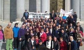 Iglesias y Garzón respaldan a los vecinos del Guadiato que reclaman en el Congreso los fondos Miner