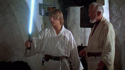 Cómo el 'flash' de una antigua cámara de fotos se convirtió en el primer sable láser de Star Wars