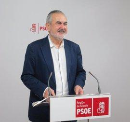 """Tovar: """"Es un escándalo que el PP intente usar la Fiscalía General para salvar a Pedro Antonio Sánchez"""""""