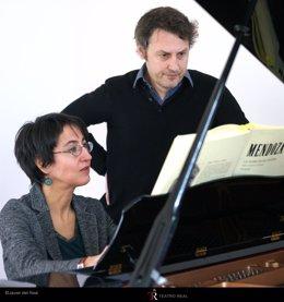 Elena Mendoza y Matthias Rebstock
