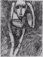 Foto: El Museo de Navarra muestra los dibujos expresionistas de Rosemary Koczy, superviviente del holocausto
