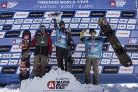 El francés Leo Slemett logra en Vallnord-Arcalís su primera victoria en el Freeride World Tour