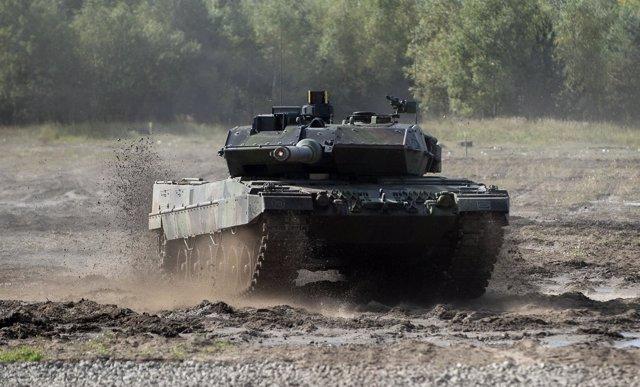Tanque Leopard 2 del ejército alemán