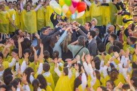 Diputación de Almería se suma a los actos del Día Contra el Cáncer Infantil de la Asociación Argar