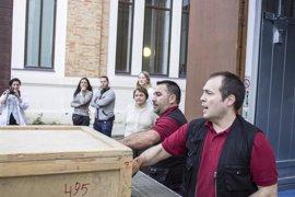 Llegan al Museo Ruso de Málaga las 78 piezas de la próxima exposición temporal 'Kandinsky y Rusia'