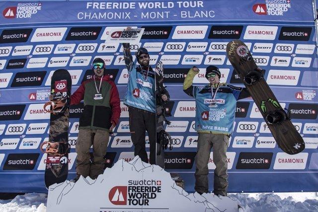 Guanyadors de la prova de Freeride World Tour d'esquí a Chamonix
