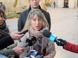 """Carmen Santos asegura que """"no hay ninguna bronca"""" en En Marea, cuyo grupo parlamentario defiende """"con uñas y dientes"""""""