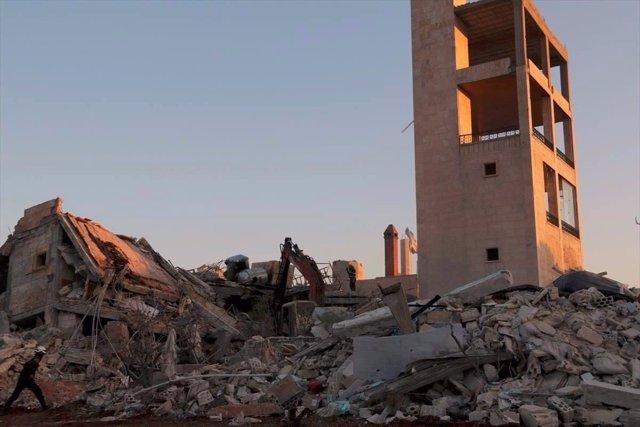 Fotos del ataque al hospital de MSF en la provincia siria de Idlib.