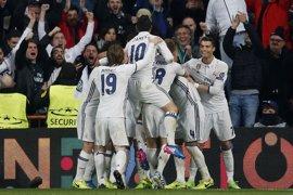 El Real Madrid reduce la amenaza del Nápoles
