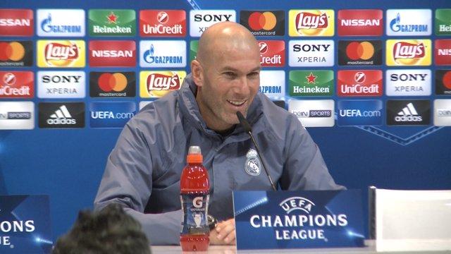 """Zidane diu que lluitaran """"des del començament i fins al final"""""""
