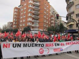 Los accidentes laborales mortales se reducen a la mitad en 2016 en Asturias