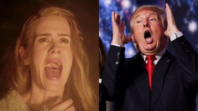 American Horror Story y Donald Trump