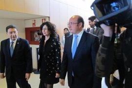 """El presidente de Murcia no aclara si cumplirá su compromiso con Cs, """"no hablo de futuribles"""""""