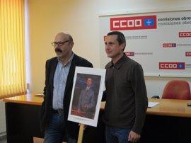 CCOO pide que la Universidad homenajee al rector Alas y revoque la distinción a Franco