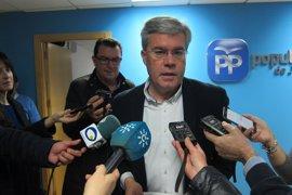 Fernández de Moya aspirará a la reelección como presidente del PP de Jaén