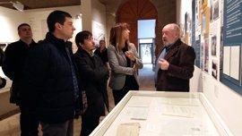 """Una exposición permite a Orwell """"tomar el café"""" en Huesca que le fue negado por la Guerra Civil"""