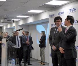 Epson invierte más de dos millones de euros en su traslado a Sant Cugat