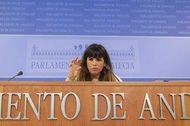 Teresa Rodríguez: Si Susana Díaz opta a liderar el PSOE no debe seguir al frente de la Junta