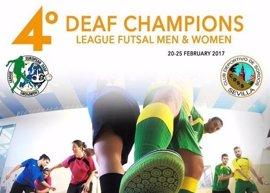 Treinta equipos de 14 países se disputarán la IV DEAF Champions League de Fútbol Sala para sordos