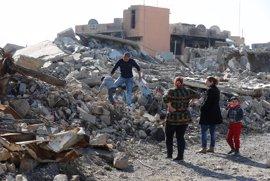 HRW denuncia que el Ejército iraquí ha destruido centenares de viviendas de civiles a las afueras de Mosul