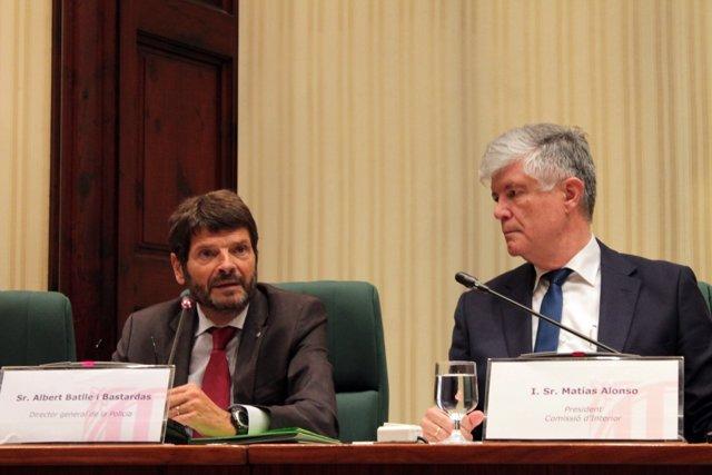 El director dels Mossos, Albert Batlle