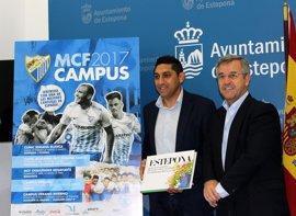 Estepona acogerá el campus del Málaga CF, que se celebrará durante Semana Blanca