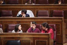 Errejón se queda sin pregunta al Gobierno en el próximo Pleno de control del Congreso