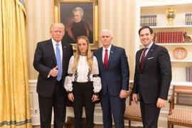 """Venezuela critica la """"intromisión"""" de Trump por defender a Leopoldo López"""