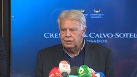 Felipe González ve prevaricación en la condena a Leopoldo López y dice que ayudará en su defensa