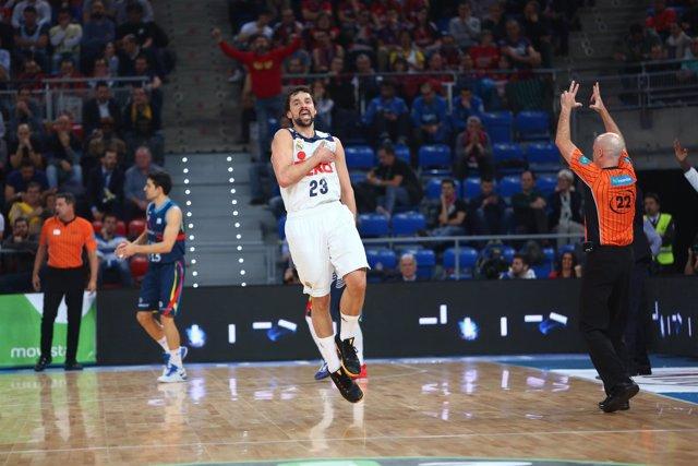 Llull en el Real Madrid - MoraBanc Andorra