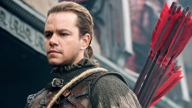 Matt Damon en La Gran Muralla