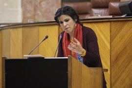 """Teresa Rodríguez pide un """"proceso constituyente"""" hacia una nación andaluza """"sin frentismos"""""""