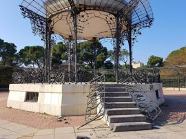 Sucesos.- El Ayuntamiento reparará lo antes posible los daños por vandalismo en el Quiosco de la Música