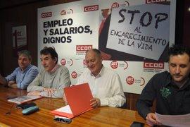Sindicatos animan a los ciudadanos a movilizarse por empleos y salarios dignos