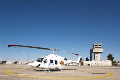 Los aeropuertos de la red de Aena operaron más de 14.500 vuelos ambulancia en 2016