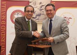 La Universidad de Sevilla y Emasesa firman un convenio para crear la Cátedra del Agua