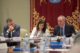 """Darias apuesta por convertir a Canarias en """"epicentro"""" del debate sobre refugiados y derechos humanos en Europa"""