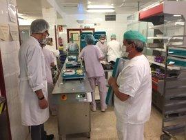 Hospital Valle de los Pedroches sirve menú especial a pacientes por la festividad de Romería Virgen de Luna