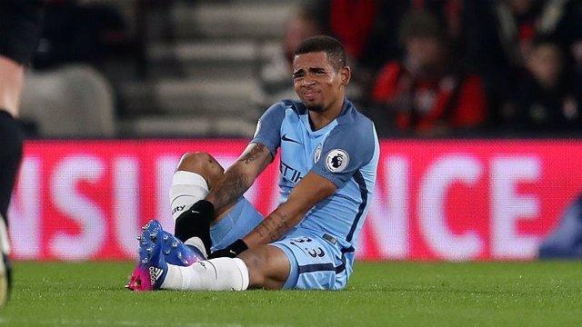 Gabriel Jesus es lesiona amb el Manchester City