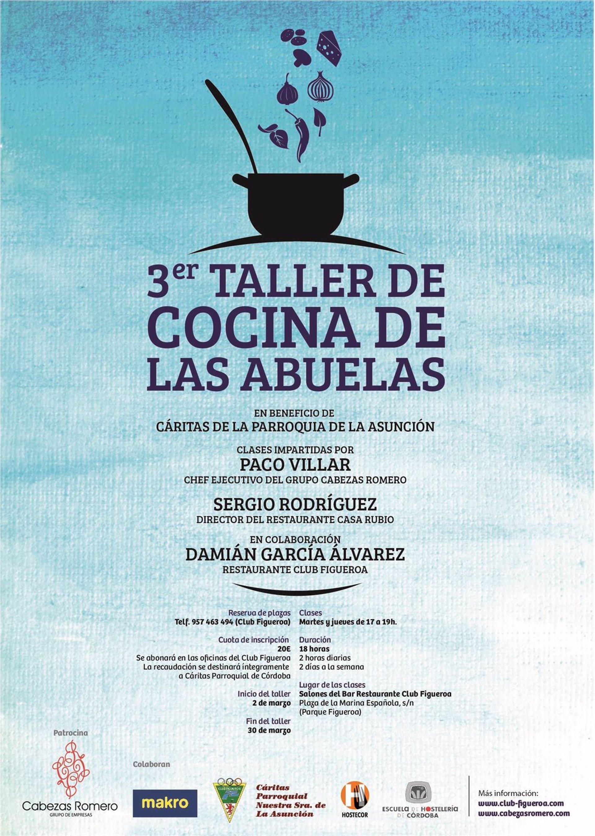 El grupo cabezas romero y el club figueroa reivindican la - Carteles de cocina ...