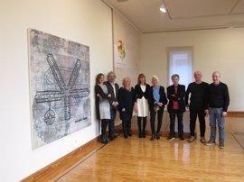 'MOABIT I', del artista Iñaki Gracenea, obra ganadora del X Certamen Nacional de Pintura del Parlamento de La Rioja