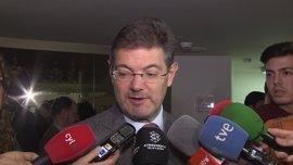 Catalá reconoce que habló con el presidente de Murcia en el congreso del PP pero no especifica si sobre su imputación
