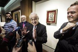 Gálvez se ofrece al presidente de Liberbank para que ceda la antigua Colección de CCM a la localidad