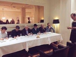 El Hotel Echaurren, primer premio en el I Campeonato Mundial de Callos celebrado en Oviedo
