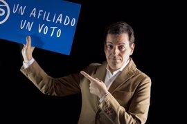 El candidato a presidir el PPCV difunde un manifiesto de cara al próximo Congreso Regional