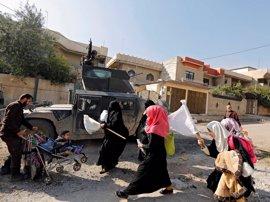 Lanzan octavillas sobre la parte occidental de Mosul para alertar de una ofensiva inminente