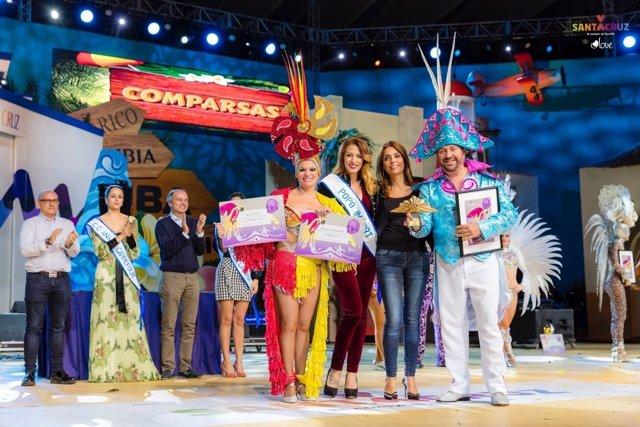 Cariocas revalida el primer premio de Interpretación en el concurso de Comparsas
